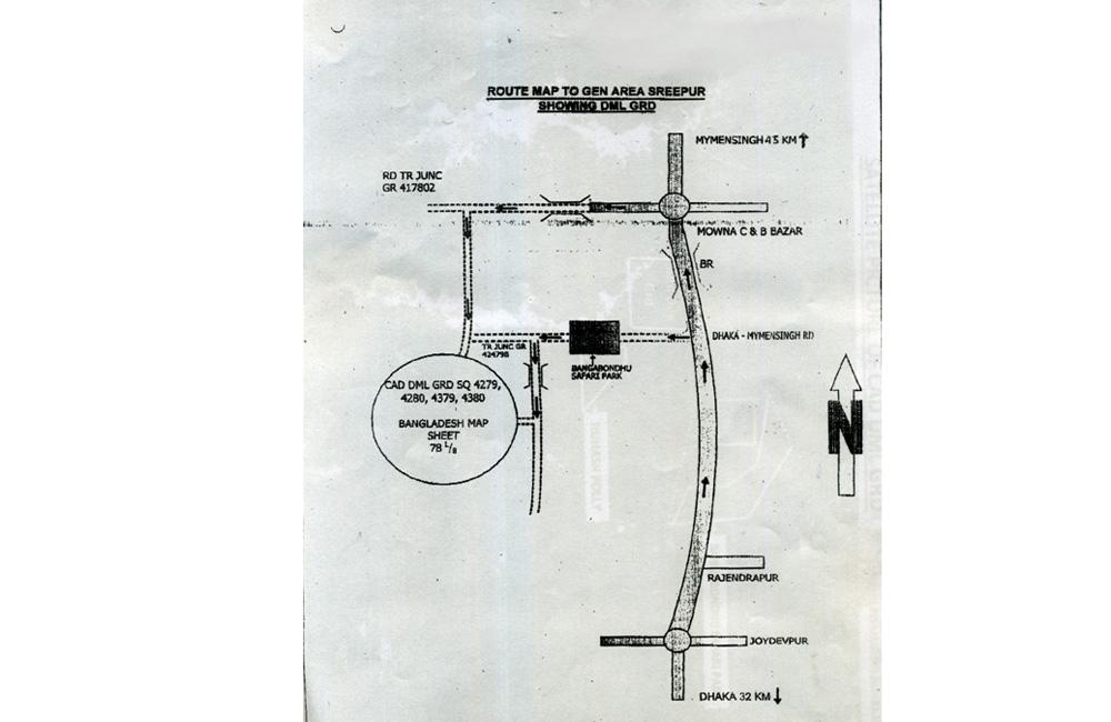 গাজীপুরের মাওনা এলাকায় গোলাবারুদ ও বিস্ফোরক দ্রব্যাদি  ধ্বংসকরণ সম্পর্কিত সতর্কীকরণ বিজ্ঞপ্তি