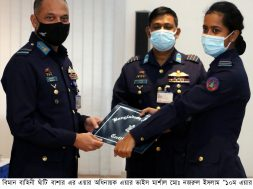 Certificate award ceremony of No 10 Aircraft Accident Investigation Course (1)